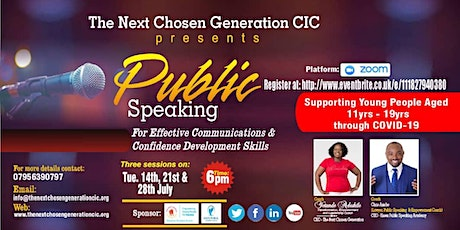 Public Speaking for Effective Communications & Confidence Development tickets