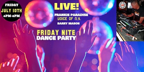 Soul Comitte Presents Friday Nites with Frankie Paradise tickets