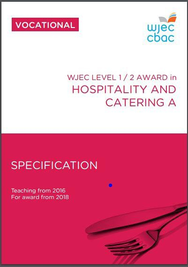 Top Marks Hospitality and Catering L1-2 (On Line training room) image