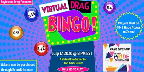 Virtual Drag Bingo for Ann Arbor Pride tickets