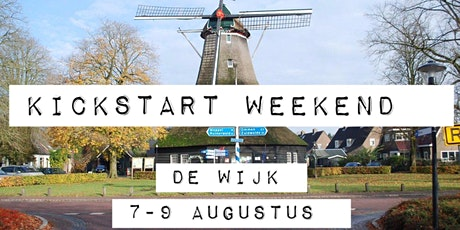 Kickstart weekend De Wijk tickets