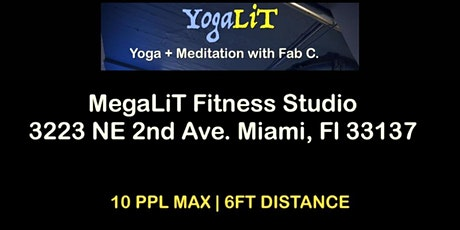 YogaLIT | Yoga + Meditation w/ Fab C. tickets
