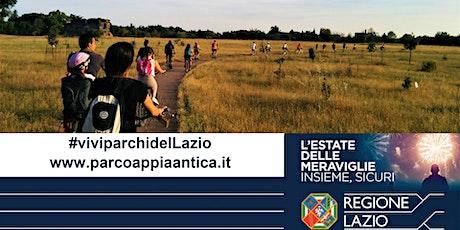 VIVI I PARCHI DEL LAZIO.  Pedalata naturalistica in Caffarella biglietti