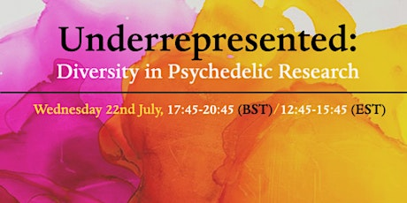 Underrepresented: Diversity in Psychedelic Research tickets