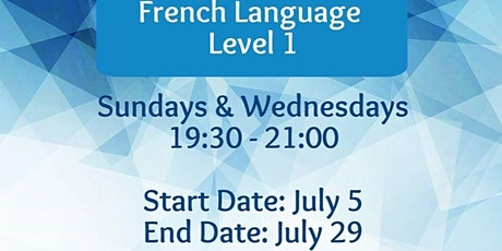 French Language Level 1 Classes tickets