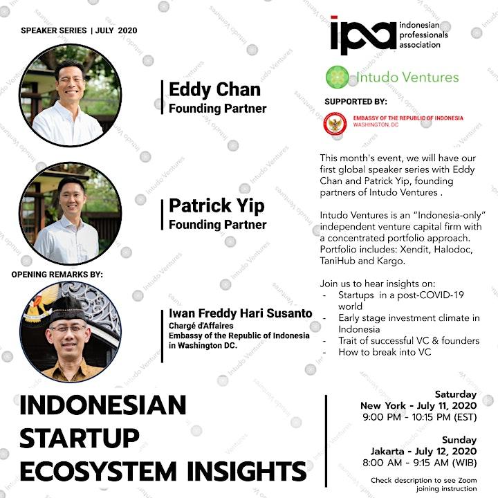 Intudo X IPA: Indonesian Startup Ecosystems Insights image