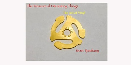 The Art of Vinyl Secret Speakeasy Tues Sept 1st 2020 tickets