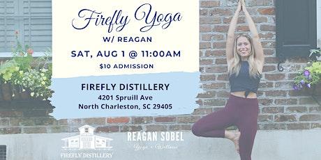 Firefly Yoga w/ Reagan Sobel - Aug 1st tickets