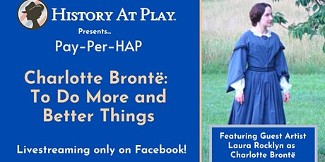 "Pay-Per-HAP Exclusive ""Charlotte Bronte"" Watch Party tickets"