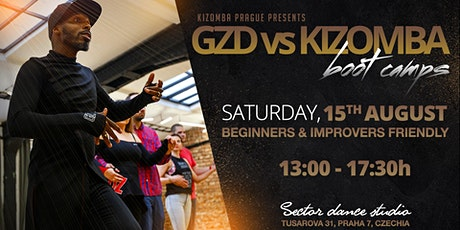 Ghetto Zouk Dance vs Kizomba dance boot camp for beginners tickets