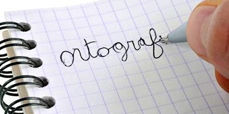 Trouble de l'acquisition de l'orthographe (dysorthographie) et aménagements billets