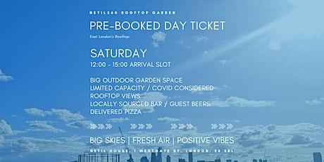 Saturday [12:00 - 15:00 Arrival Slot] tickets