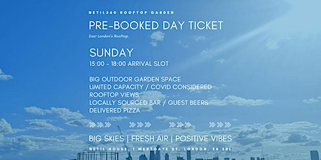 Sunday [15:00 - 18:00 Arrival Slot] tickets