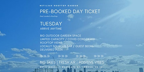 Tuesday [Arrive anytime] tickets