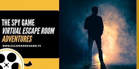 The Spy Game Virtual Escape Room  Adventure PRIVATE tickets