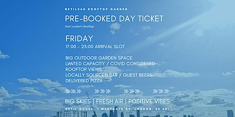 Friday [17:00 - 23:00 Arrival Slot] tickets