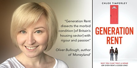 Generation Rent: Why You Can't Buy a Home - Online Book Launch Event tickets