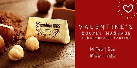 Valentine's Couple Massage & Chocolate Workshop tickets