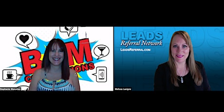 Business Building with BAM Connections and LEADS Referral Network tickets