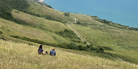 Over the Downs to Friston Aerodrome and Exceat Moderate Walk tickets