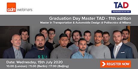 Graduation Day Master TAD | 11th edition tickets