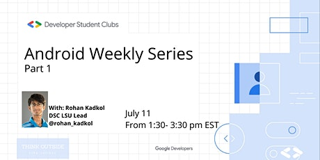 Android Weekly Series tickets