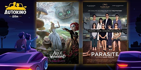 Parasite & Alice im Wunderland - Fr 10.07. Autokino Wien Tickets