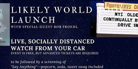 Likely World Book Launch--Tickets Available Now! tickets