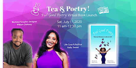 Tea and Poetry: Virtual Book Launch tickets