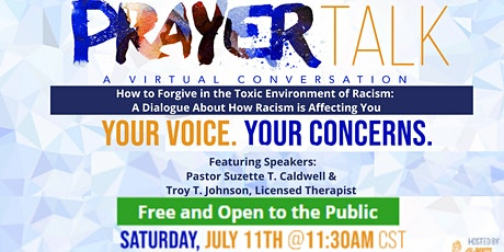 PrayerTalk: How to Forgive in The Toxic Environment of Racism tickets