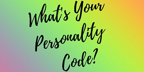 Virtual Happy Hour Discover Your Personality Code tickets