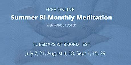 Summer Bi-Weekly Meditation tickets
