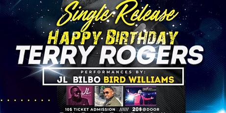 Terry Rogers Single Release Birthday Party tickets