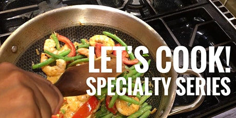 Get Saucy !  a Let's Cook! Specialty interactive online cooking class tickets