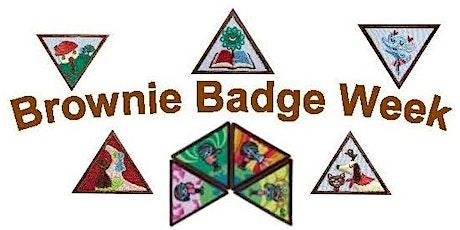 Brownie Virtual Badge Week tickets