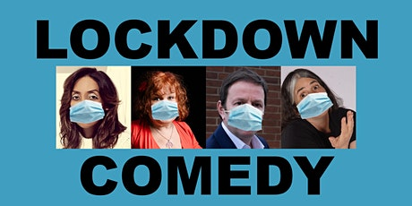 Lisa Geduldig Presents... Lockdown Comedy: Across the Pond Comedy (July 16) tickets