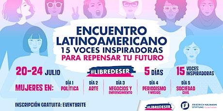 Encuentro Latinoamericano #libredeser boletos
