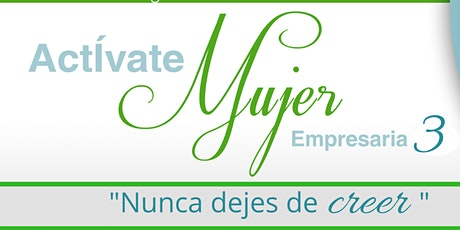 VIRTUAL ACTIVATE MUJER EMPRESARIA 3 tickets