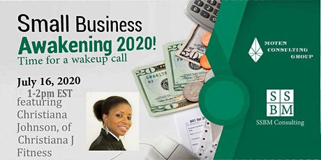 SMALL BUSINESS AWAKENING 2020 with Christiana Johnson tickets
