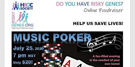 Risky Genes Music Poker Night tickets