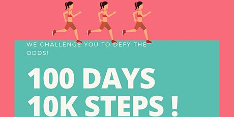 100 Days 10,000 Steps Challenge tickets