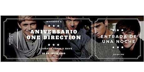 One Direction Aniversario tickets