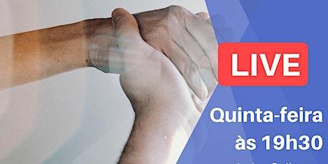 Live - Amparadores: Consciências Extrafísicas Assistenciais bilhetes