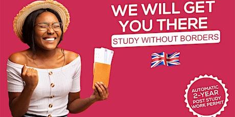 UKEAS Study World Online Fair tickets