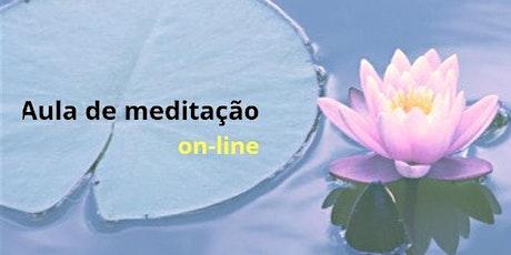 Aula de meditação: conhecendo os benefícios e vivenciando a prática ingressos