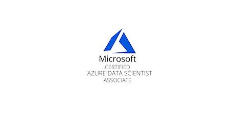 Wknds San Francisco Azure Data Science Associate(DP-100)Training Course tickets