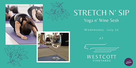 Stretch n' Sip Yoga and Wine Sesh tickets
