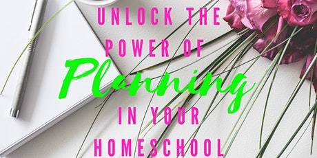 Unlock the Power of Planning Your Entire Homeschool Year tickets
