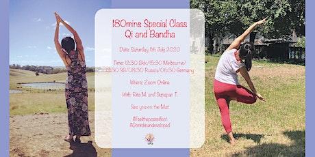 Qi  and Bandha Master Class 180 mins  - Supapan (Thailand) and Rita (Aust) tickets