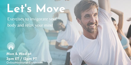 Let's Move (Online Exercise) tickets